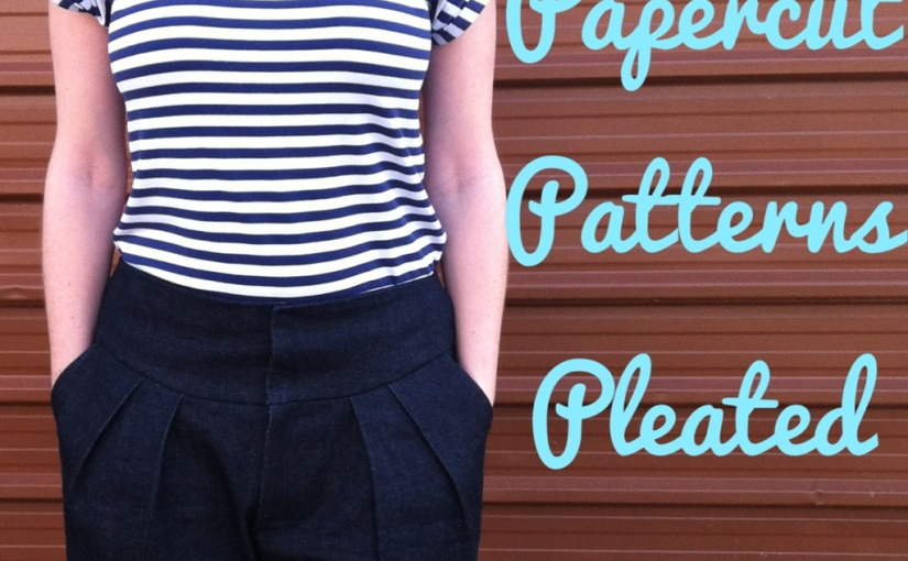 Pleated Pants by PapercutPatterns