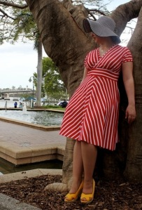 Tiramisu in Red Stripes