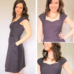 Cambie Dress Grey
